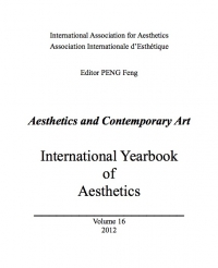 Volume 16. Peng Feng (ed.). Aesthetics and Contemporary Art
