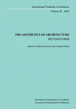 Volume 20. Misko Suvakovic and Vladimir Mako (ed.). The Aesthetics of Architecture – Beyond Form